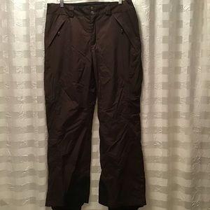 Columbia Titanium Brown Snow Pants w/Pockets